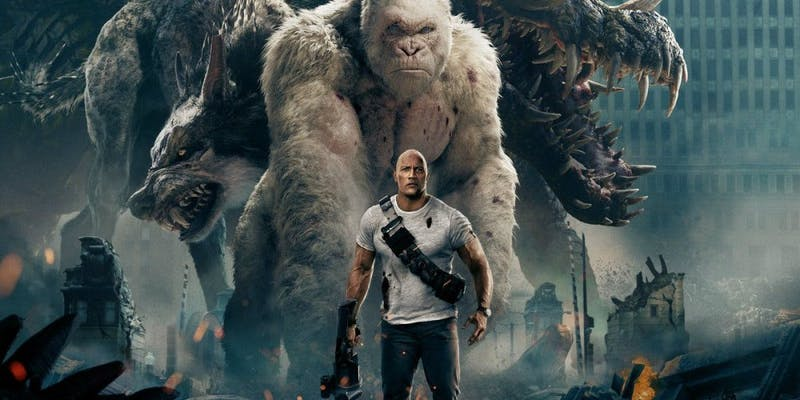 'Rampage' is more like a cinematic temper tantrum
