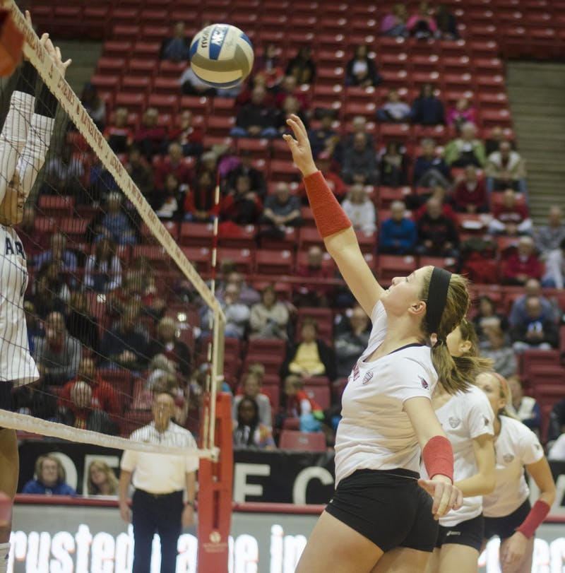 WOMEN'S VOLLEYBALL: Cardinals finish regular season, secure No. 4 seed