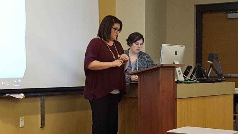 The University Council met March 2 with updates on committees' progress on various projects. As always, students are welcome to attend the next council meeting April 6 at 4:00 p.m. in the David Letterman Communication and Media Building room 125. Sara Barker // DN