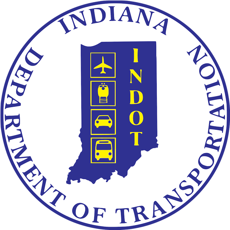 Seal of the Indiana Department of Transportation