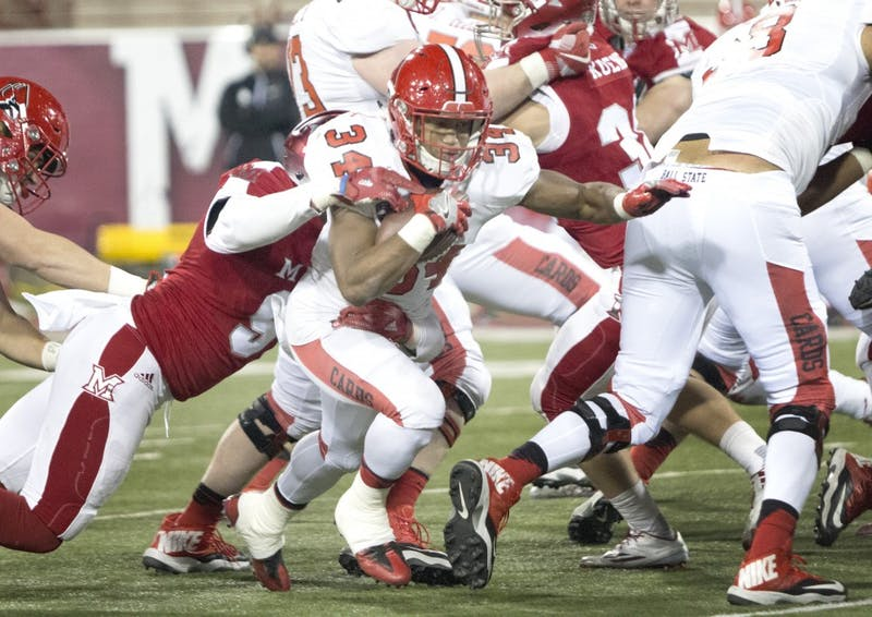 Competition pushes Gilbert to 4th on Ball State single-season rushing yards list