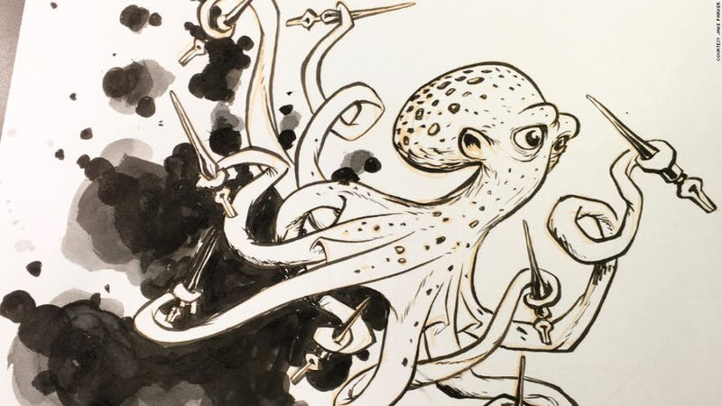 Inktober: Artists doodle daily toward improvement