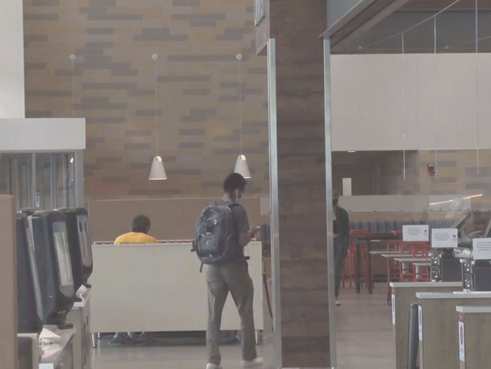 Students explore Ball State's newest dining hall as the 2020-2021 school year begins.
