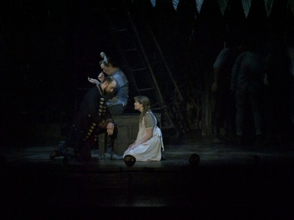 A performance of Peter and the Starcatcher was put on Feb. 4 at John R. Emens Auditorium. The show is part of the Ball State University artist series event.