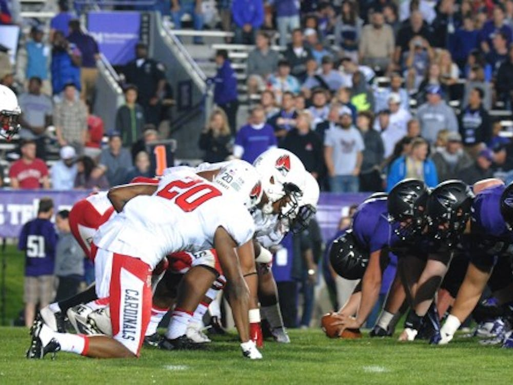 The Cardinals attempted to stop Northwestern
