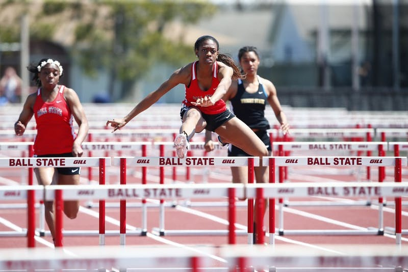 The Ball State track and field team recorded 12 career-best performances on Saturday in their 2017 indoor season opener dual meet at Western Michigan. The team will compete in the two-day Kentucky Invitational Friday, Jan. 13. Ball State University Division of Strategic Communications // Photo Provided