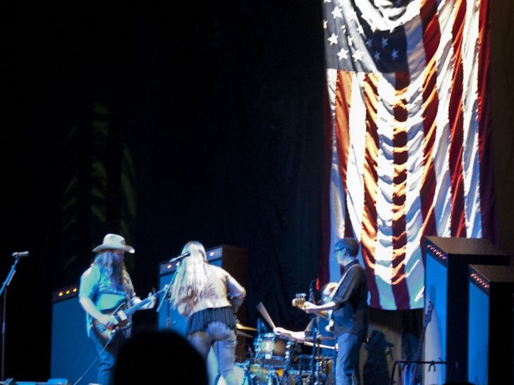 Chris Stapleton opened for Little Big Town on March 14 at John R. Emens Auditorium for their Pain Killers tour.