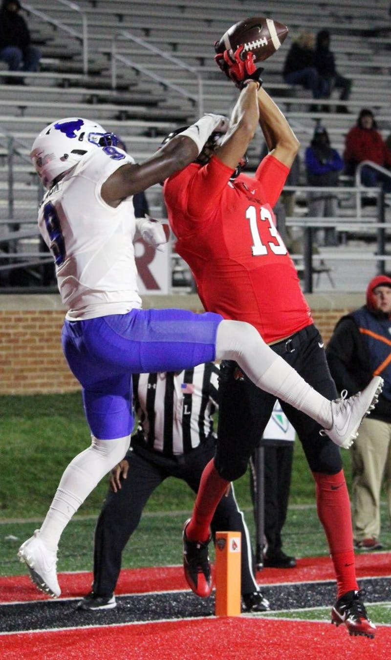 The Cardinals lost 24 to 40 against Buffalo on Nov. 16 at Scheumann Stadium. Ball State's loss makes them 2-9 with one game left in the season on Nov. 22 at home against Miami (Ohio).