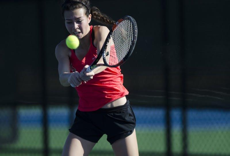 Ball State women's tennis 8-2 on the season