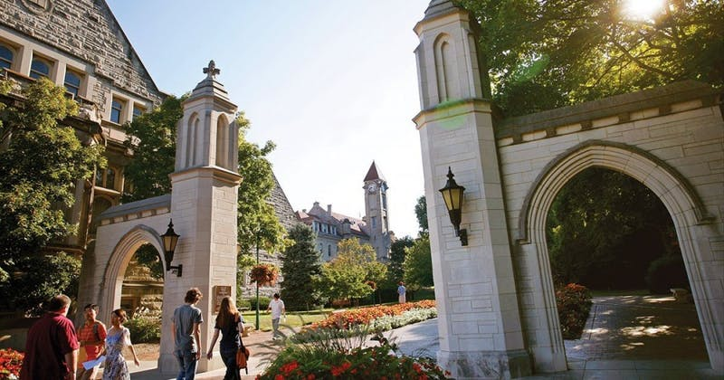 Indiana University announced on Monday that all IFC fraternity chapters suspended all social activities with alcohol and unsupervised new member events. IU is just the latest in a domino-like effect of fraternity suspensions across the country. Indiana University, Photo provided