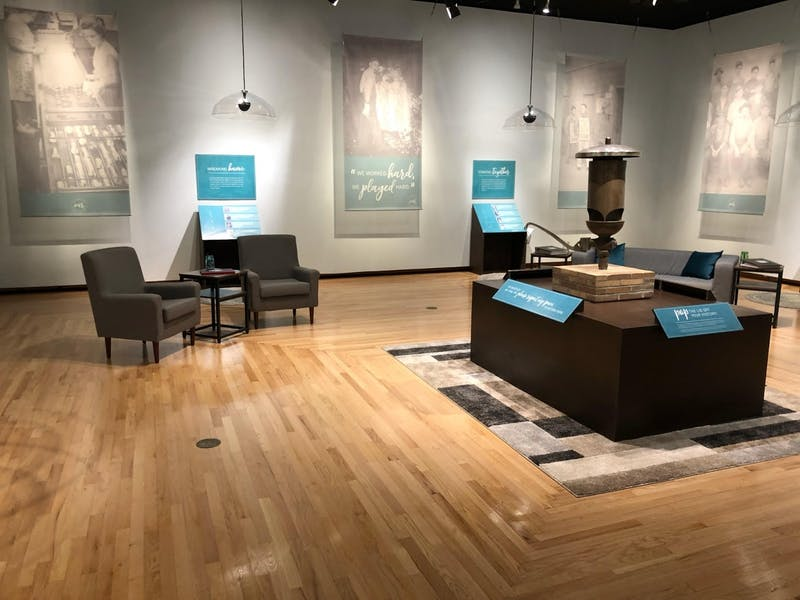 """Minnetrista's """"Jarring Our Memories"""" exhibit displays original artifacts, photos and oral history from the Ball Brothers Corporation factory plant. The exhibit aims to teach visitors local history and highlight the plant's impact on Muncie. Kyle Smedley, DN"""