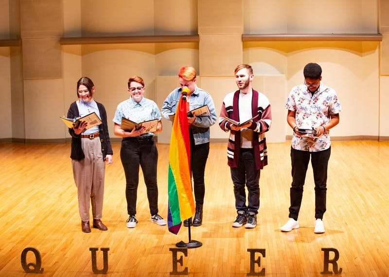 'Queer Monologues' offers a look into the queer experience at Ball State