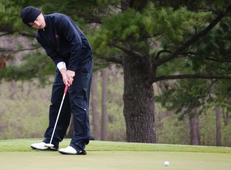 MEN'S GOLF: Ball State in seventh after two rounds