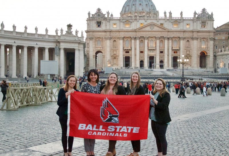 Ball State students produce global content at Vatican for World Water Week