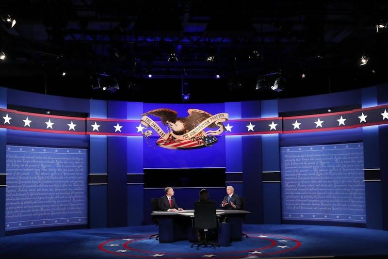 Park Hall hosts VP debate viewing party