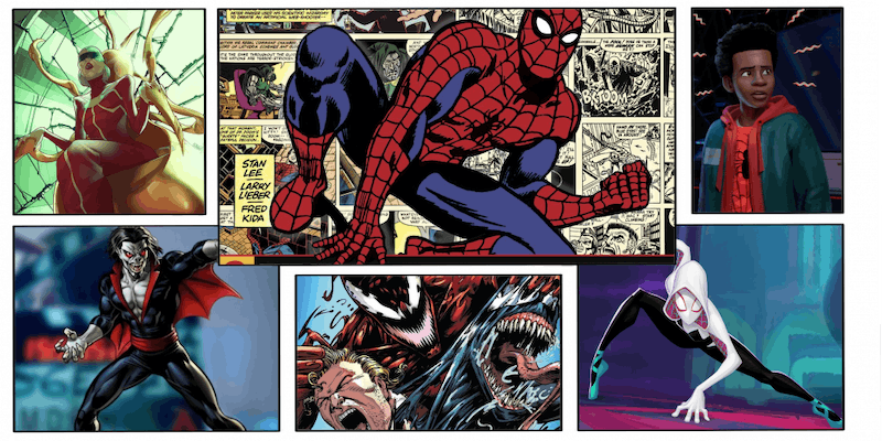 A breakdown of 5 new Sony Spider-Man movies