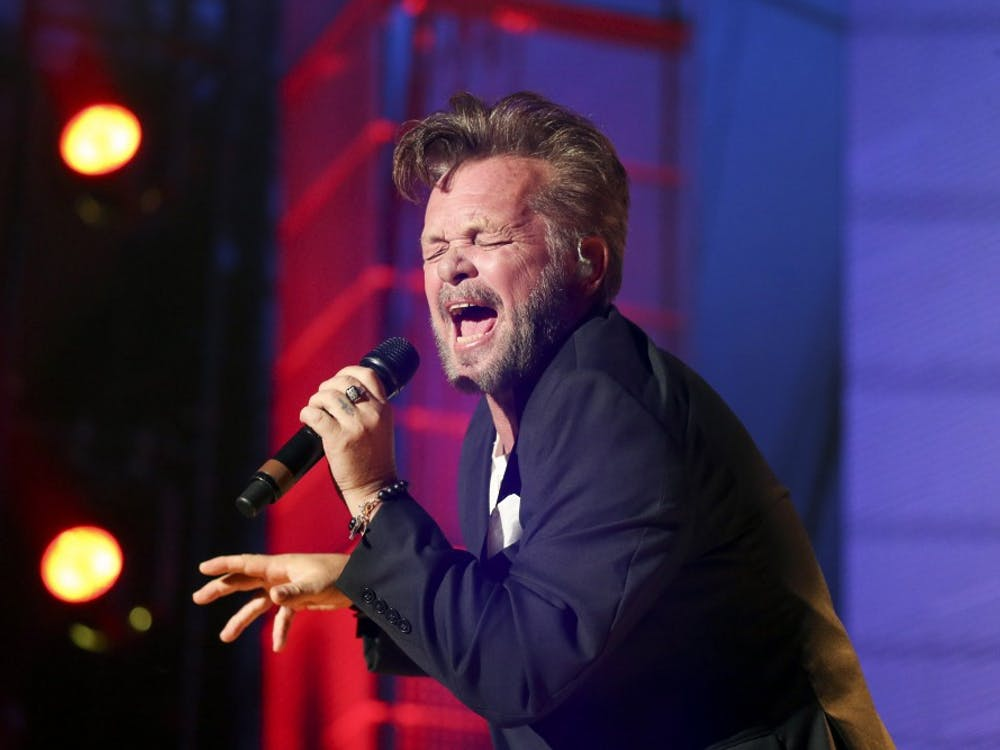 John Mellencamp performs during Farm Aid 30 at the FirstMerit Bank Pavilion on Northerly Island in Chicago on Saturday, Sept. 19, 2015. (Armando L. Sanchez/Chicago Tribune/TNS)