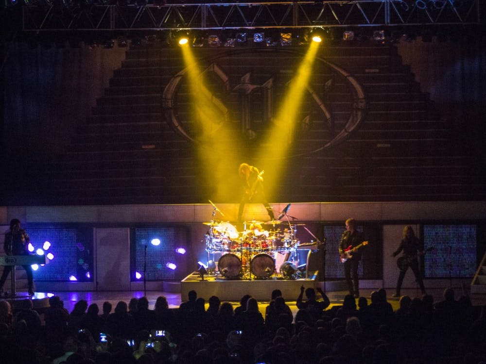 Styx performed on Feb. 13 at John R. Emens Auditorium. Styx is a classic rock and roll band.