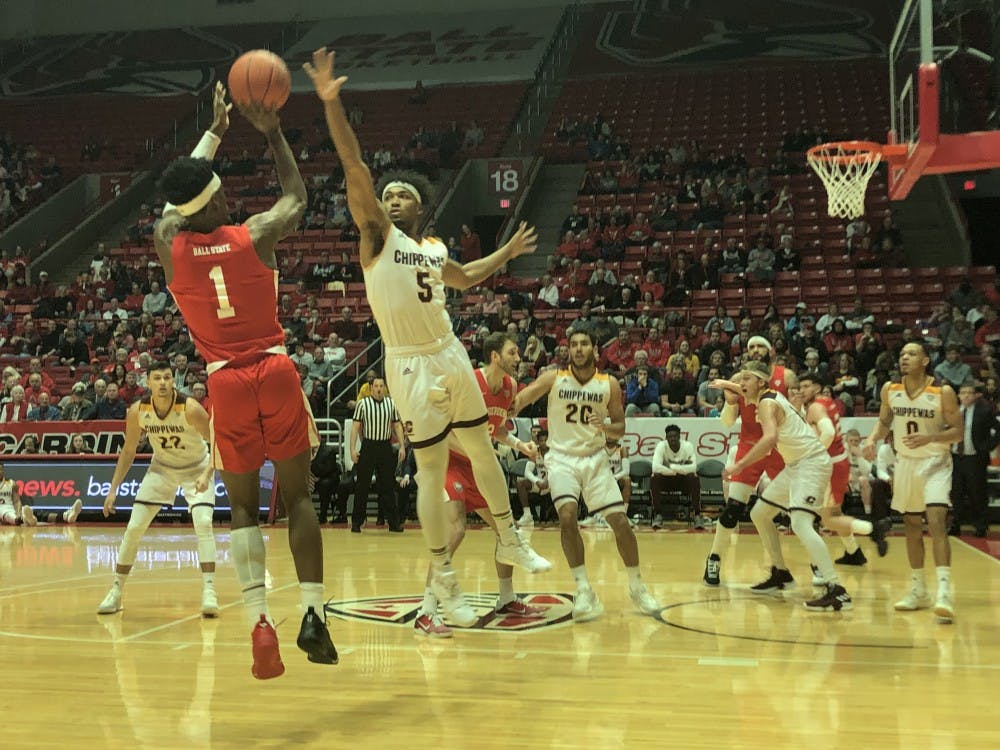 Late Central Michigan run hands Ball State Men's Basketball ninth conference loss