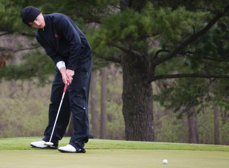 MEN'S GOLF: Ball State moves up to 4th in MAC Championships