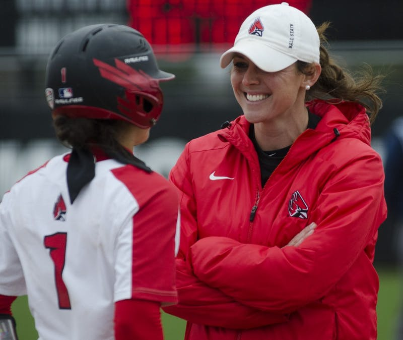 Maddy Labrador becomes 4th Cardinal named MAC West Softball Player of the Week