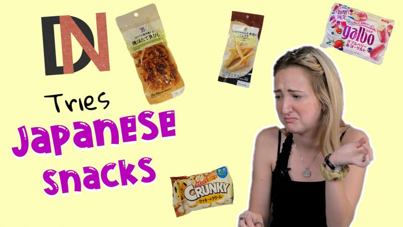 DN and Byte Editors take a bite into Japanese Snacks in this DN Tries.