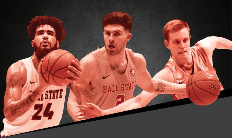 Three seniors' time with Ball State Men's Basketball has gone beyond the court