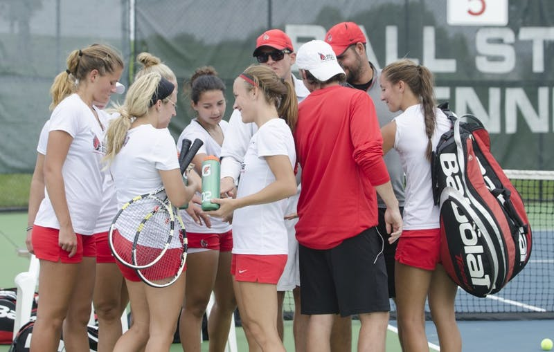 Ball State women's tennis prepares for Bowling Green match