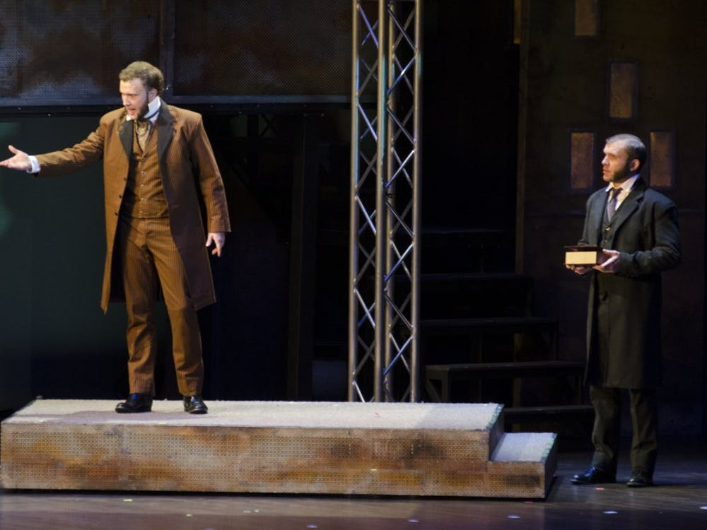 """The musical """"Jekyll & Hyde"""" came to Emens on Nov, 11."""