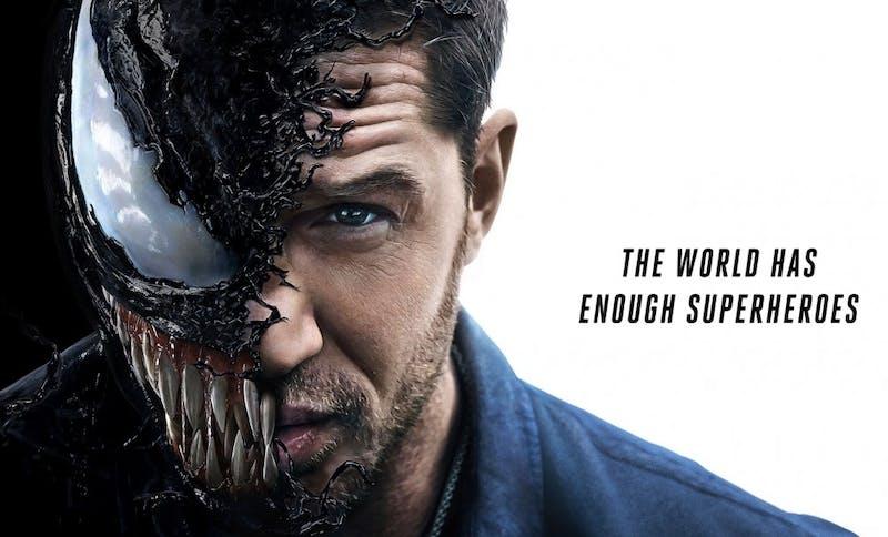 'Venom' is a beautiful, lovable parasite