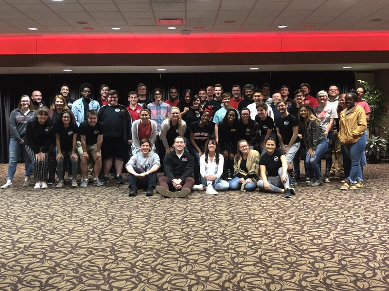 Ball State SGA meeting run by Elevate for the first time