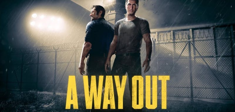 'A Way Out' is a unique co-op story-driven action adventure game featuring a charismatic duo