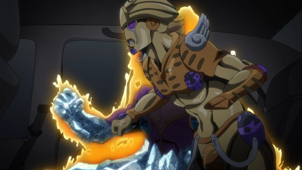 "REVIEW: 'Jojo's Bizarre Adventure: Vento Aureo' Episode 19: ""White"