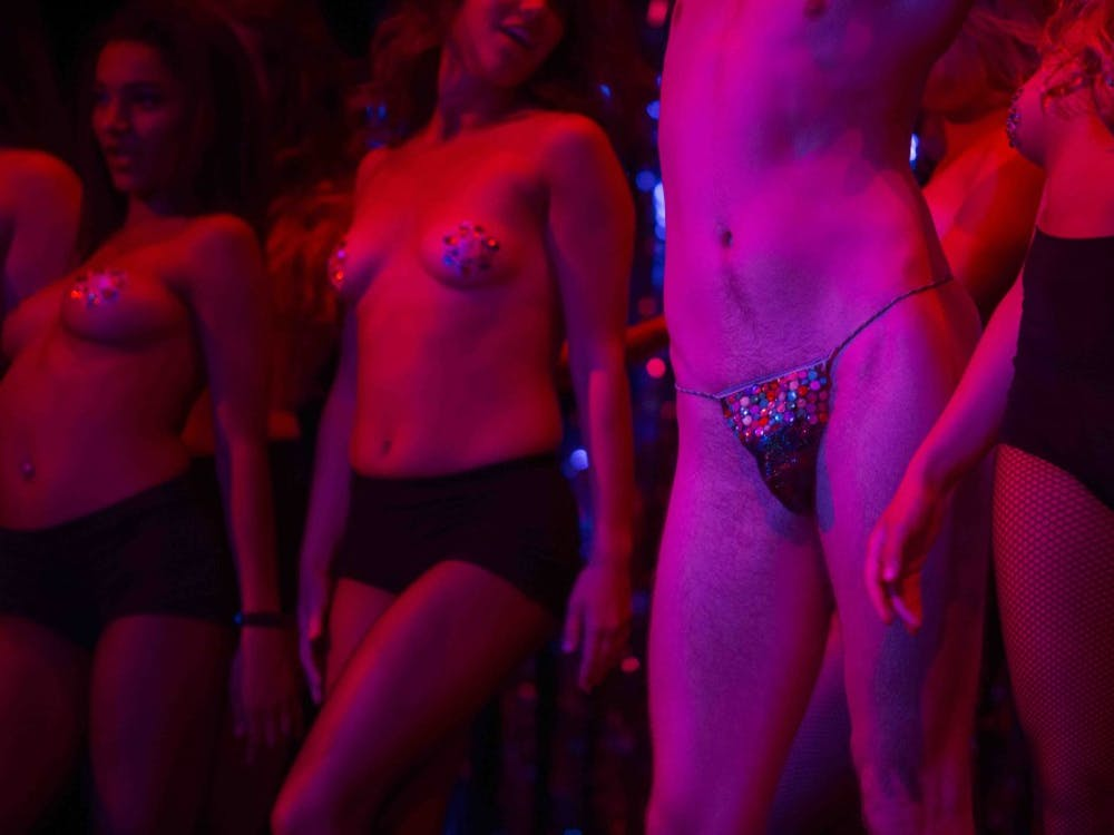 Star Follies Burlesque Show lit up the stage Oct. 3 at Muncie Civic Theater.