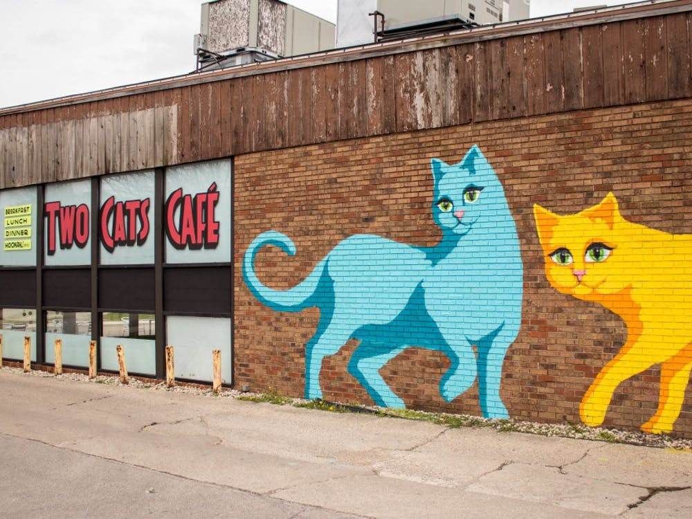 Two Cats Café in the Village on April 11. Grace Ramey // DN