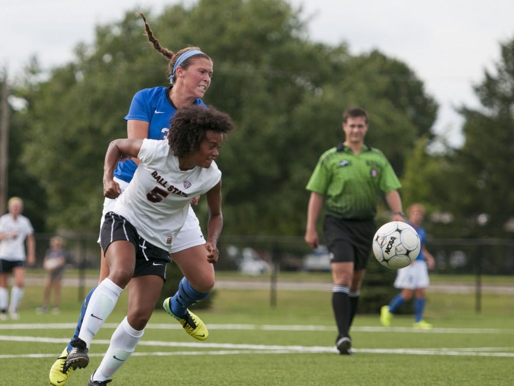 The Ball State soccer team faced IPFW on Aug. 22 at the Briner Sports Complex. Ball State won 3-0.