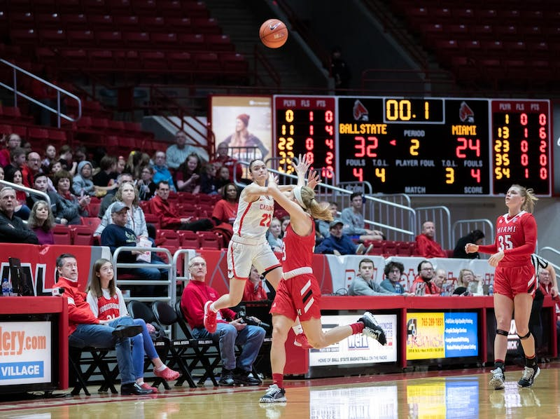 Cardinals soar over RedHawks in MAC win
