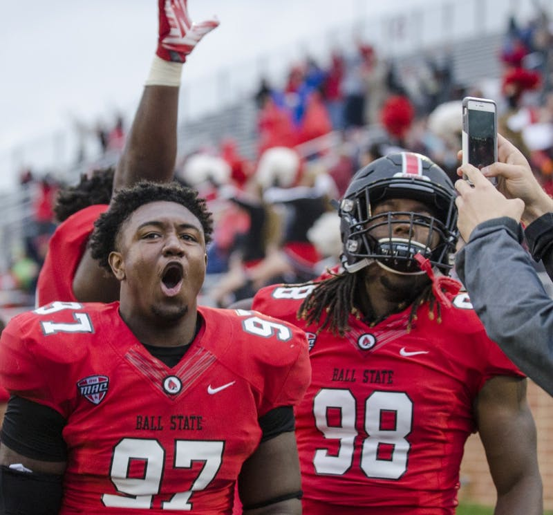 Ball State football 3rd least penalized team in FBS