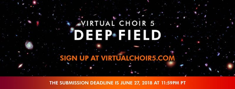 Eric Whitacre's Virtual Choir 5 now taking video submissions