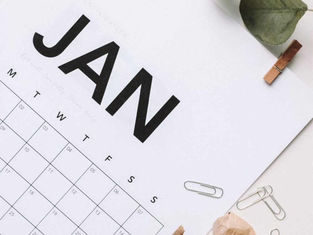DIY calendars from Pinterest can help keep you organized, while also decorating you bedroom or office space. Maddi Bazzocco, Unsplash
