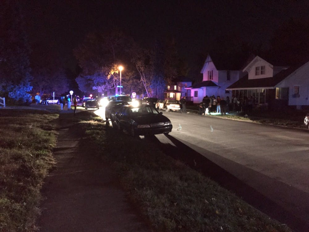 Police respond to reports of shots fired on the 1000 block of West Ashland Avenue. One individual was arrested at the scene. Andrew Smith, DN
