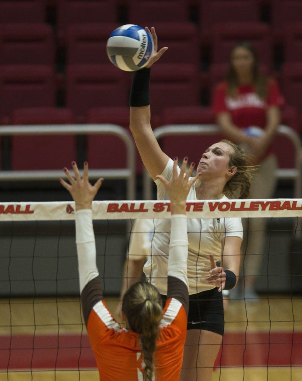 Taking the next step: Kia Holder is eager to show her improved leadership on the volleyball court