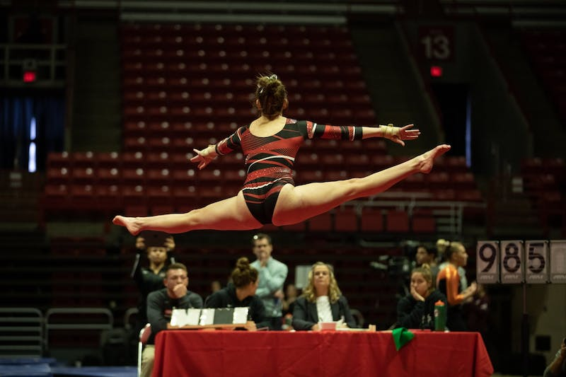 Ball State wins quad home meet