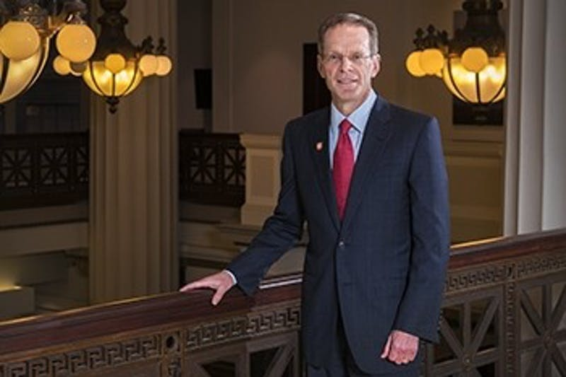 Ball State named Geoffrey S. Mearns as its 17th president.