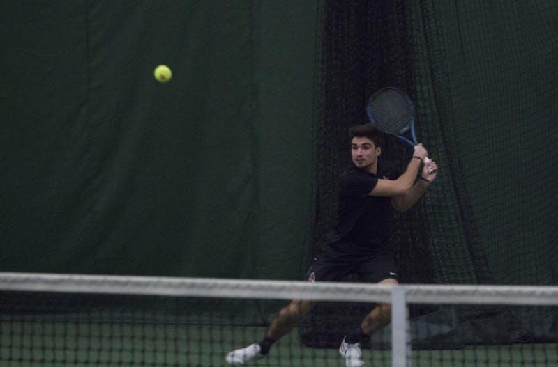 Ball State men's tennis keeps on winning behind Chris Adams and Conner Andersen