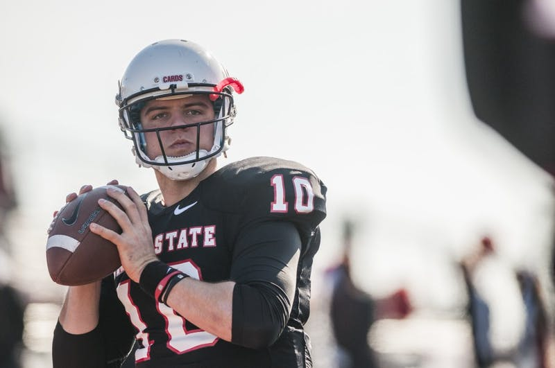 Former Ball State quarterback Keith Wenning signs to New York Giants practice squad