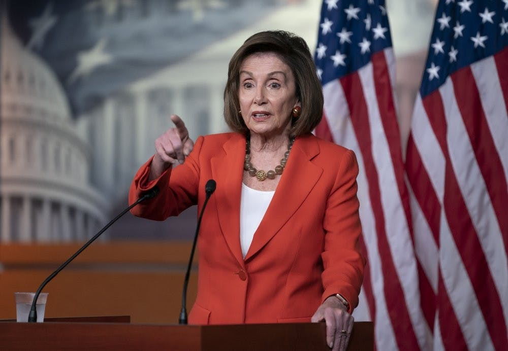 Sharply divided House approves Dems' impeachment rules