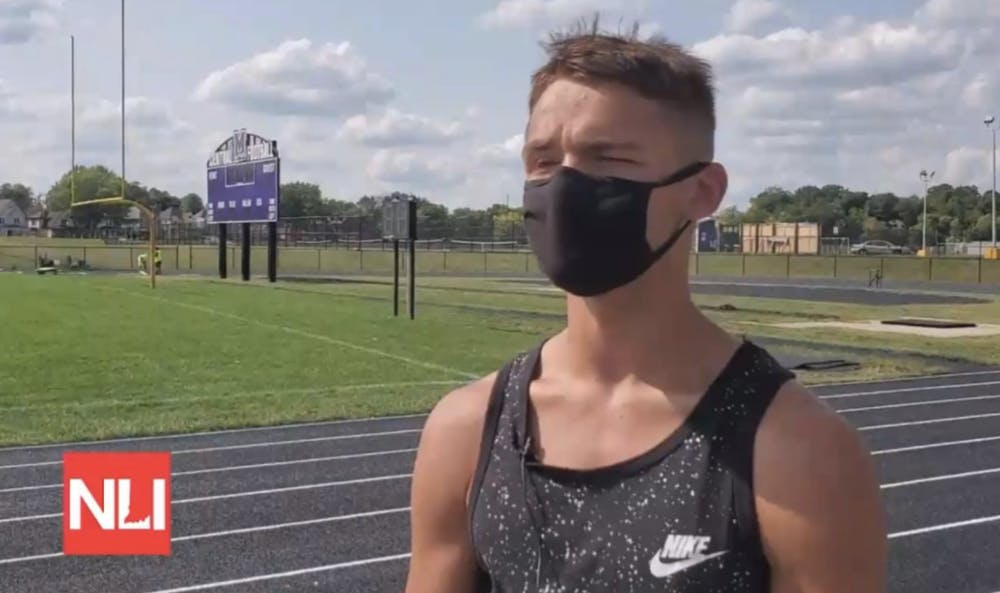 Jagger Scott looks forward to the remainder of his senior cross-country season, even during a global pandemic.