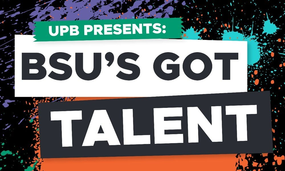 <p>The University Program Board will host 'BSU's Got Talent' on Feb. 22 at 8 p.m.&nbsp;in John J. Pruis Hall. The event will allow students to compete for up to $150 in gift cards&nbsp;with performances ranging in everything&nbsp;from singing to impressions. <em>UPB Benny Link // Photo Courtesy</em></p>