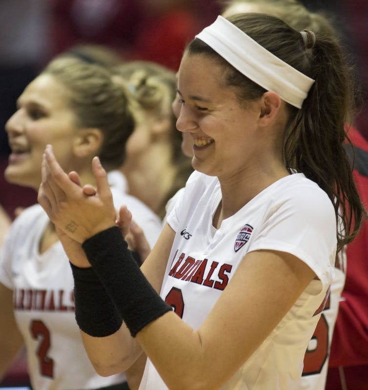 Goodsel earns First Team All-MAC as Ball State women's volleyball enters MAC tournament